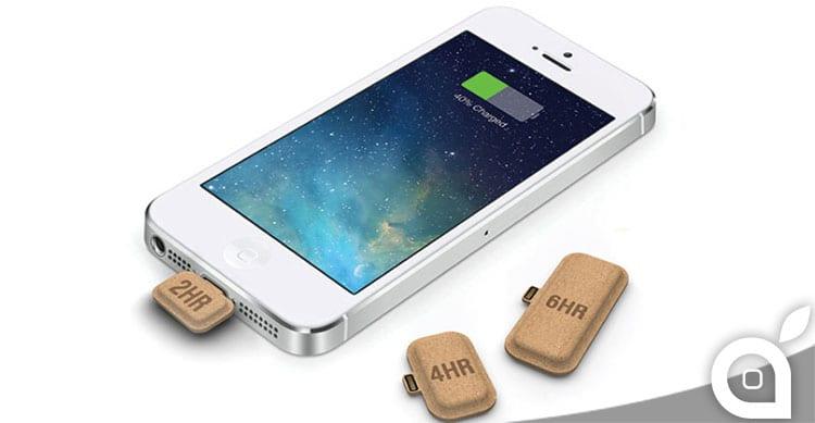 Un concept immagina un salva carica per iPhone… a compresse