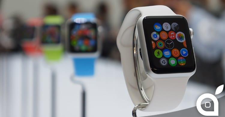 La produzione in massa dell'Apple Watch inizierà a Gennaio