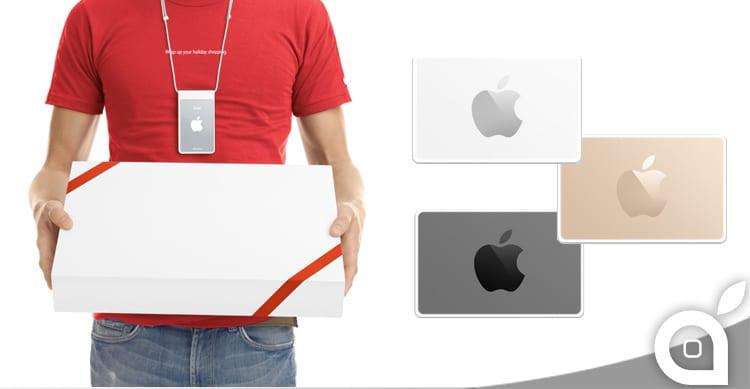 Apple presenta nuove uniformi e nuove carte regalo in occasione dello shopping natalizio