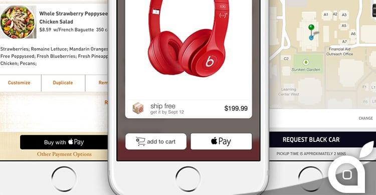 Le app ed i negozi che supportano Apple Pay incrementeranno i guadagni durante le feste natalizie