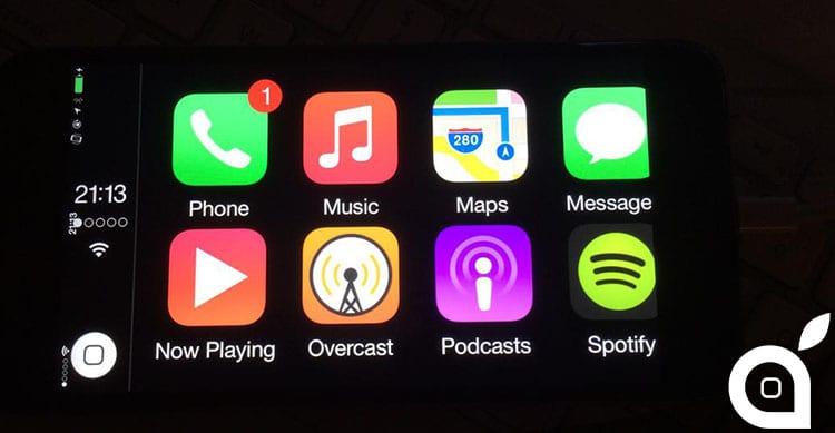 CarPlay su iPhone eliminerà la necessità di uno schermo esterno [Video]