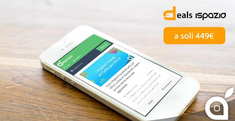 deals iSpazio: iPhone 5S 16 GB in offerta a 449€