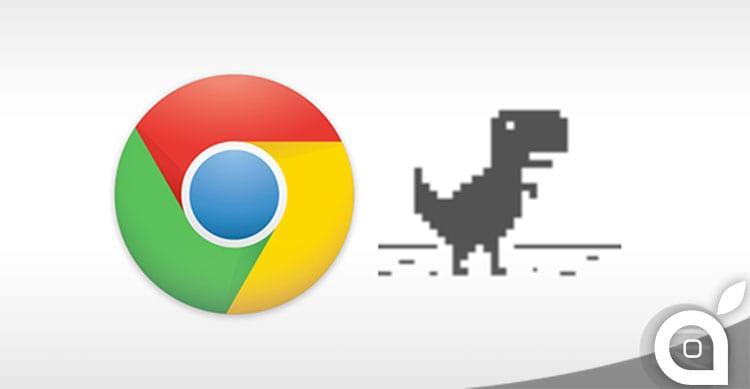 google chrome t-rex