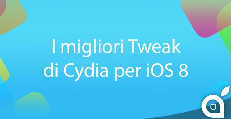 Ecco i Migliori Tweak di Cydia per iOS 8: La lista di iSpazio ed il nuovo servizio che la mentiene aggiornata
