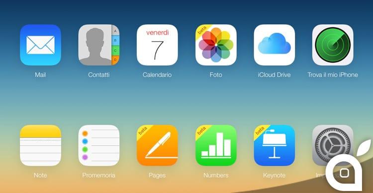 E' ora possibile caricare immagini su iCloud anche attraverso qualsiasi Browser Web
