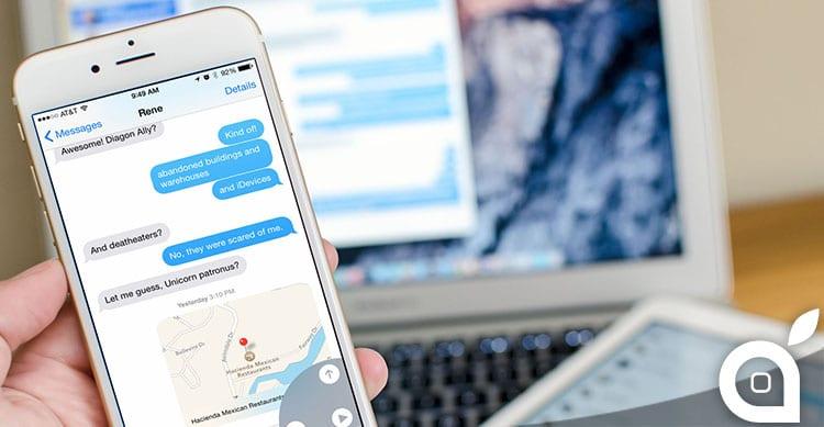 Con iMessage Apple infrange alcuni brevetti: multa di 23.6 milioni di dollari