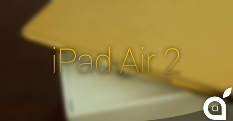 ipad air 2 oro 24k