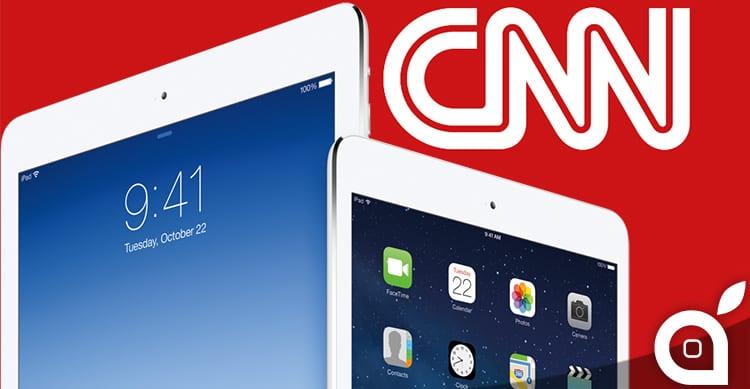 Alla CNN i Microsoft Surface vengono usati come supporto per gli iPad!