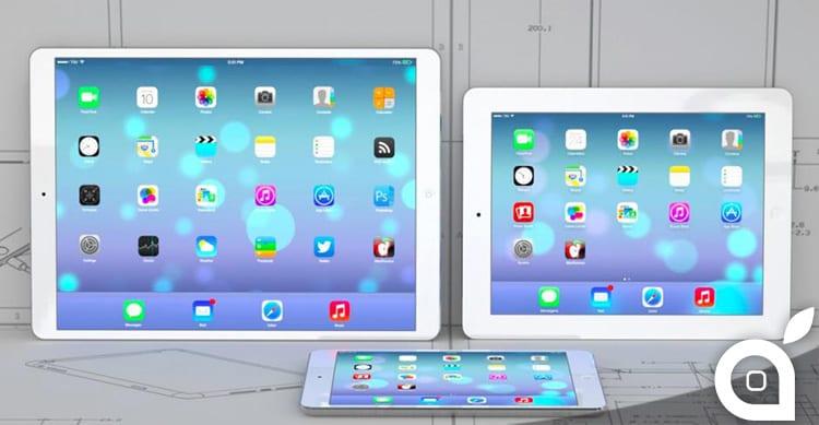 Il nuovo iPad Pro da 12,2″ potrebbe essere rilasciato tra Aprile e Giugno del 2015