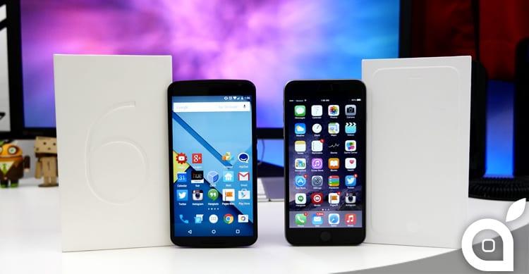 iPhone 6 Plus vs Nexus 6: ecco i due smartphone a confronto [Video]