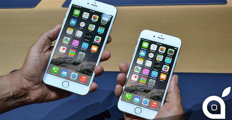Chi vende di più tra iPhone 6 e iPhone 6 Plus? Ecco la risposta