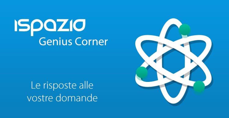 ispazio-genius-corner
