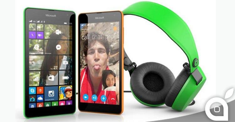 Microsoft lancia Lumia 535 il suo primo smartphone senza logo Nokia [Video]