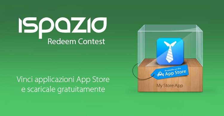 iSpazio Redeem Contest: Vinci 3 copie di My Store App