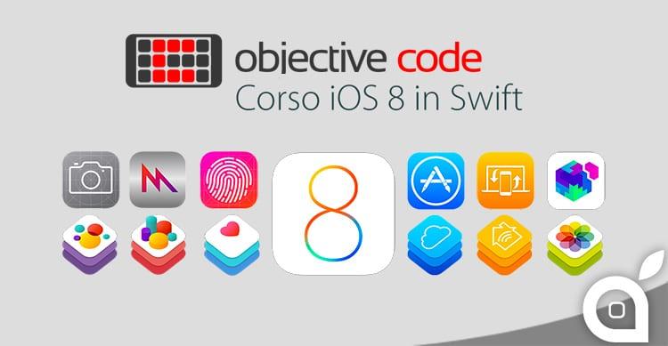 Objective Code presenta le date estive del famoso Corso iOS Base in Swift