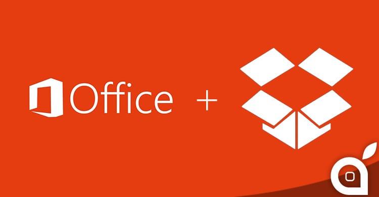 Microsoft e Dropbox avviano una collaborazione
