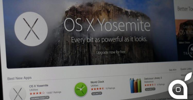 Apple rende disponibile la sesta beta di OS X 10.10.2 agli sviluppatori