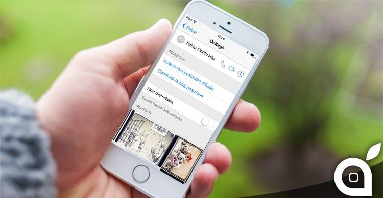 Ecco come mandare la propria posizione GPS su iMessage di iOS [Guida]