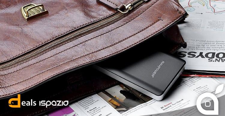 Ultimo giorno per acquistare a 29€ la batteria portatile RAVPower da 14.000 mAh con Deals iSpazio
