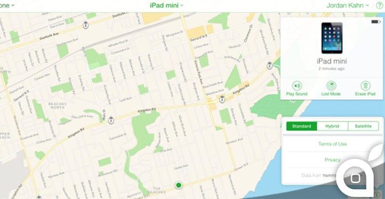 versione web di Mappe Apple
