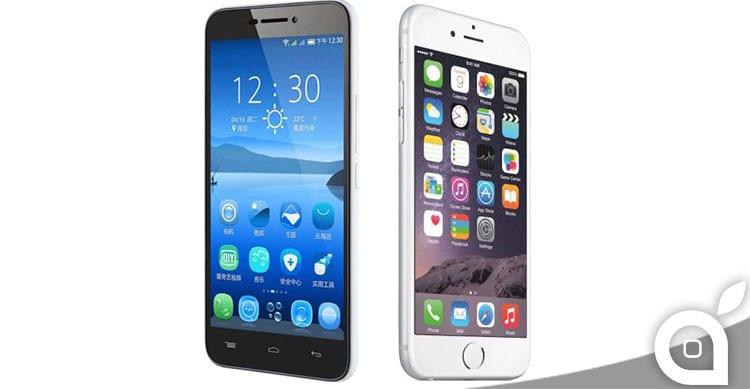 Un produttore cinese accusa Apple del furto del design del suo smartphone