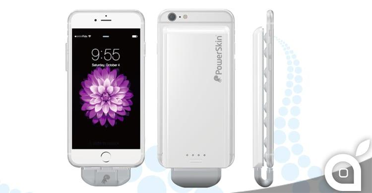 PowerSkin PoP'n 2 la batteria portatile per iPhone 6 con le ventose | Recensione iSpazio
