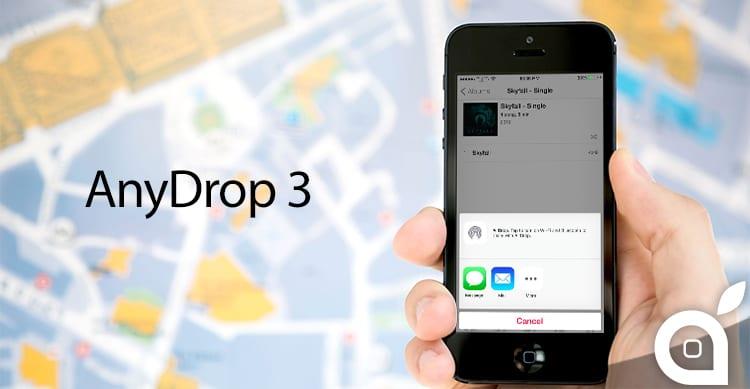 AnyDrop 3, il tweak che permette di inviare qualsiasi file con la funzione AirDrop   Cydia
