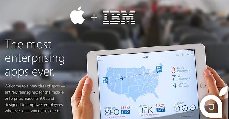 Apple e IBM producono una nuova serie di 10 app enterprise