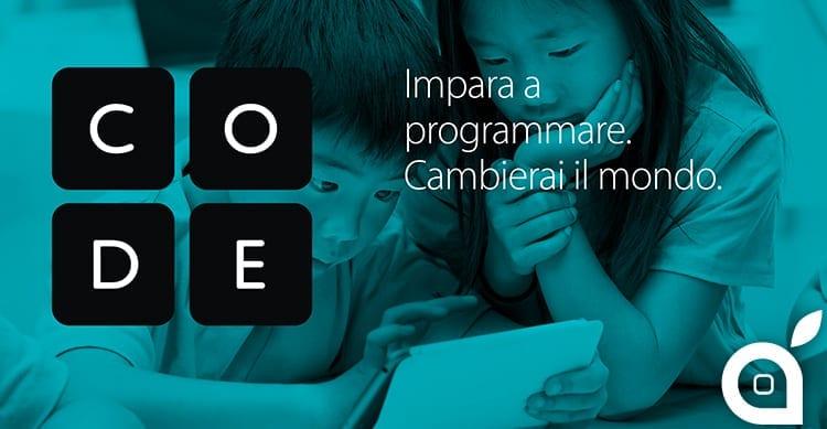 L'11 Dicembre, presso tutti gli Apple Store italiani potremo partecipare all'Ora del Codice