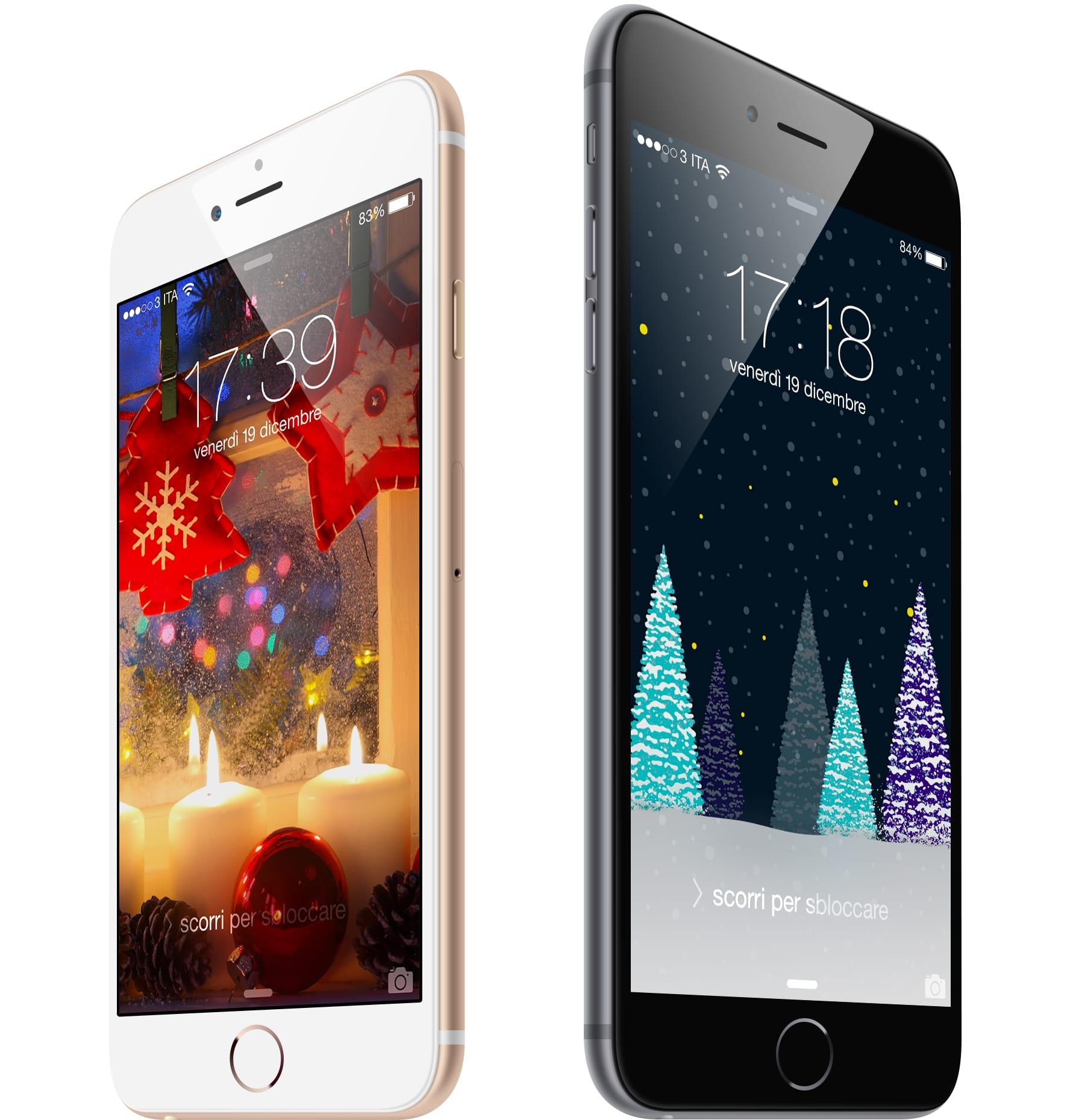 #WallpaperSelection #51: Scarica Gratis tre Sfondi Natalizi iSpazio per il tuo iPhone ed iPad [DOWNLOAD]