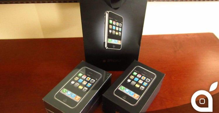 eBay coppia di iPhone prima generazione