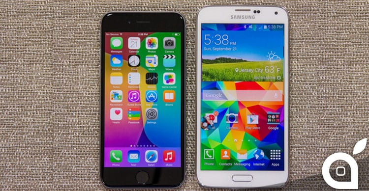 iPhone 6 Samsung Galaxy