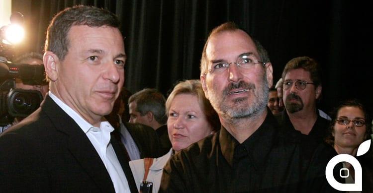 Il CEO della Disney discute della partnership con Apple e del rapporto con Steve Jobs