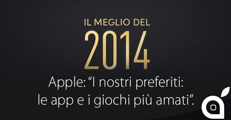 Il Meglio del 2014: ecco le migliori app dell'anno secondo Apple