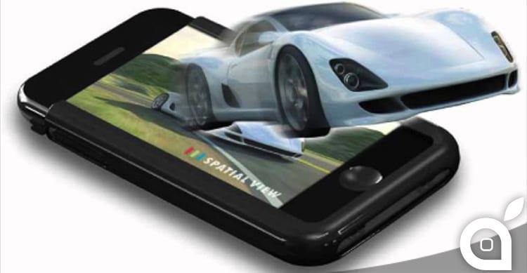 Apple deposita un brevetto per l'intefaccia utente di iPhone in 3D