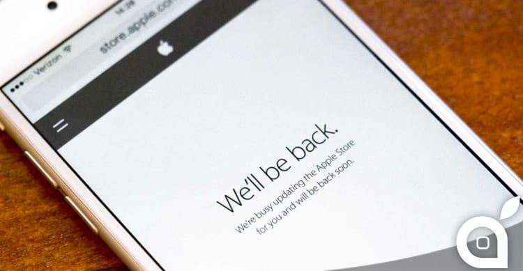 L'Apple Store è Offline: in arrivo i nuovi iPod
