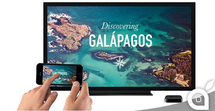 iphone schermo remoto apple tv