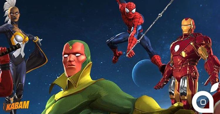 Kabam e Marvel Comics collaborano per un nuovo RPG con protagonisti i supereroi dei fumetti