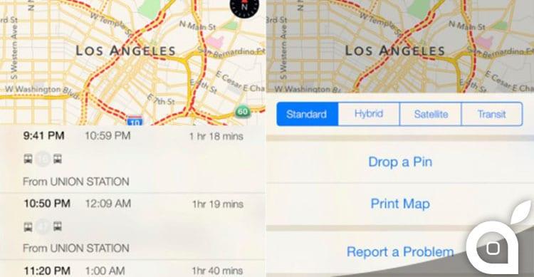 Apple aggiunge le informazioni sui trasporti pubblici per nuove città