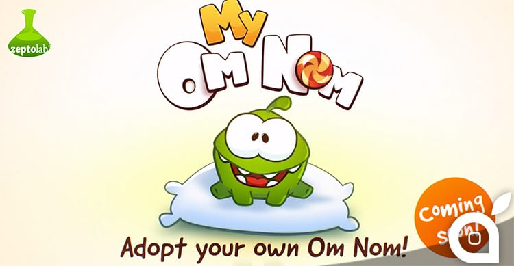 My Om Nom: presto disponibile in App Store il gioco con protagonista Om Nom di Cut The Rope [Video]
