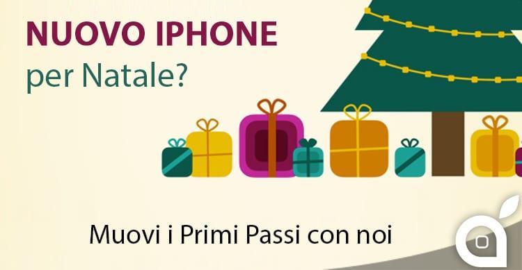 Nuovo iPhone per Natale? Muovi i primi passi con noi!