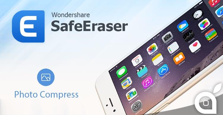 Riduci il peso delle Foto e libera spazio su iPhone/iPad con SafeEraser