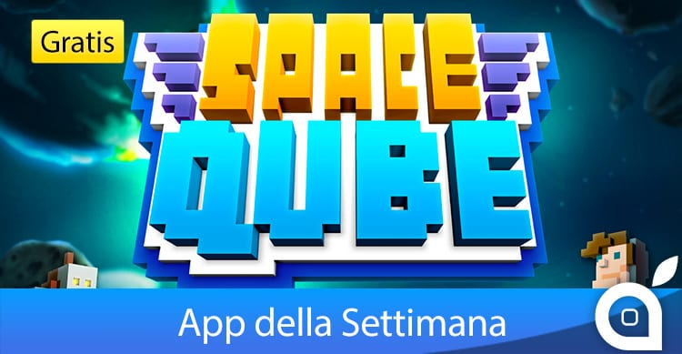 """Apple rende gratuito il gioco """"Space Qube"""" per 7 giorni con l'App della Settimana. Approfittatene!"""