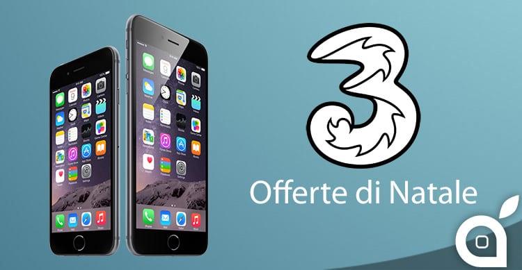 Ecco le offerte di Natale di 3 Italia per iPhone 6 e iPhone 6 Plus ...