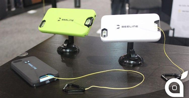 CES 2015: Beeline mostra un case per iPhone 6 con cavo Kevlar retrattile