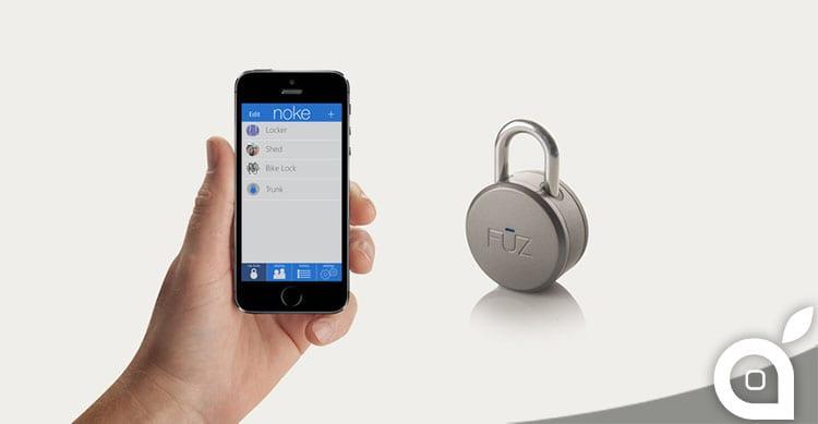 CES 2015: Apri il tuo lucchetto con l'iPhone grazie a Noke [Video]