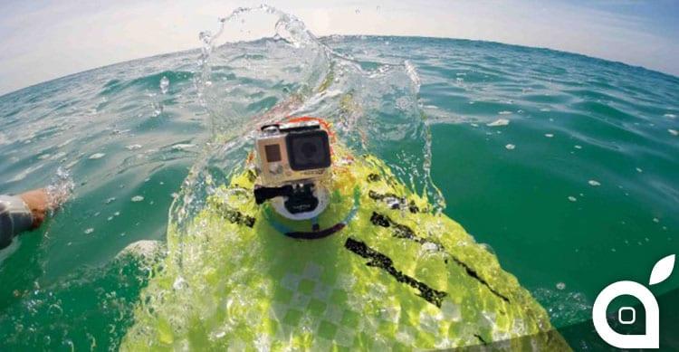 Brevetti Apple: fotocamera sportiva in stile GoPro