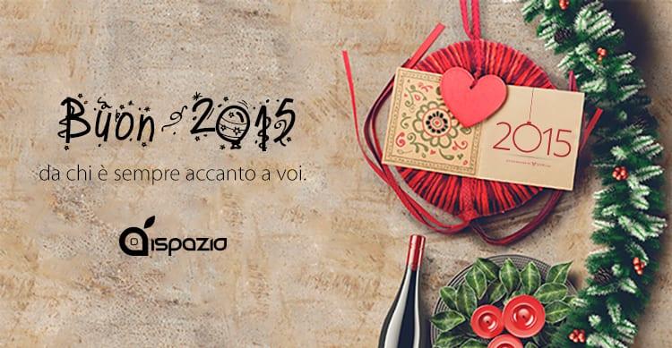iSpazio vi augura un Felice anno nuovo: Buon 2015!