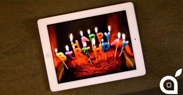 Buon Compleanno! iPad compie 5 anni [Video]