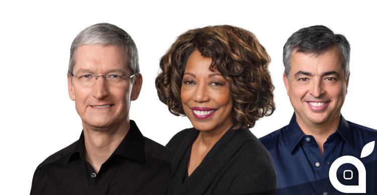 dirigenti apple 2015